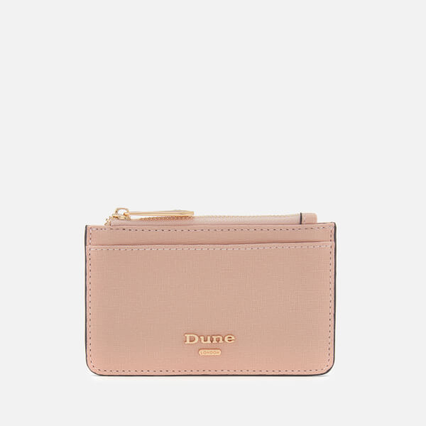 Dune Women's Kandle Zip Pocket Card Holder - Blush