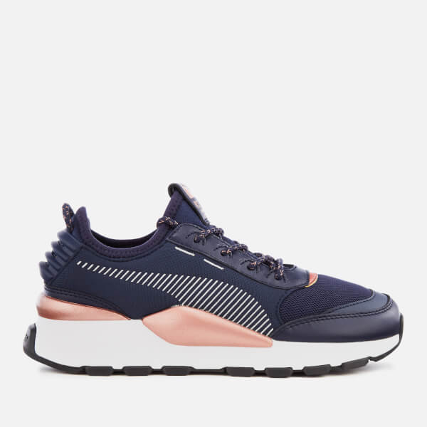 Puma Women's RS-0 Trophy Trainers - Peacoat/Puma White
