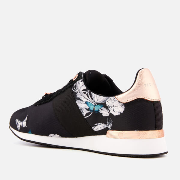 ff680743a5ff Ted Baker Women s Emileio Jacquard Runner Style Trainers - Black Narnia   Image 2