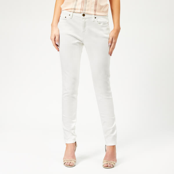 MICHAEL MICHAEL KORS Women's Denim Selma Skinny Jeans - White
