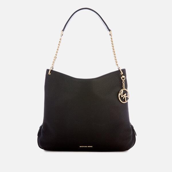 a5257c662a3c MICHAEL MICHAEL KORS Women's Lillie Shoulder Tote Bag - Black: Image 1