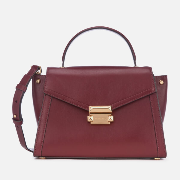 ec609c70ae3cd6 MICHAEL MICHAEL KORS Women's Whitney Satchel - Oxblood: Image 1