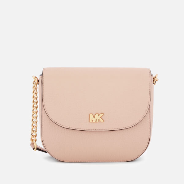 fe590c6a97ea MICHAEL MICHAEL KORS Women s Half Dome Cross Body Bag - Soft Pink  Image 1