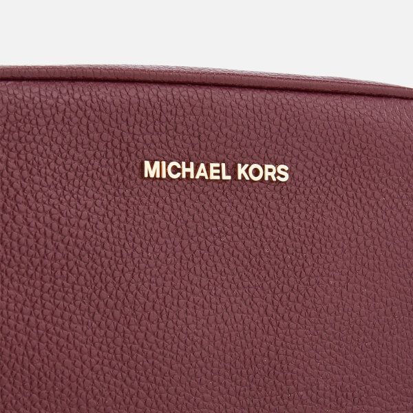 5cdfd02cb852 MICHAEL MICHAEL KORS Women's Ginny Medium Camera Bag - Oxblood: Image 4
