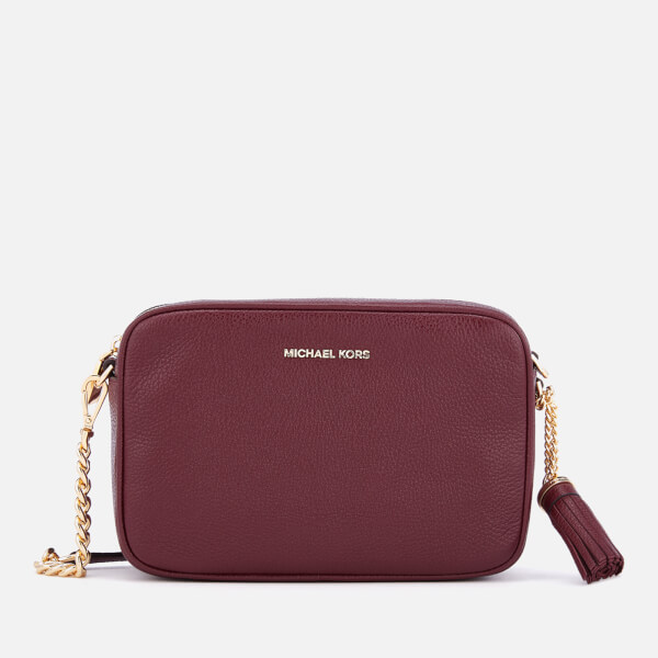 bc9dcdac7fcf MICHAEL MICHAEL KORS Women's Ginny Medium Camera Bag - Oxblood: Image 1