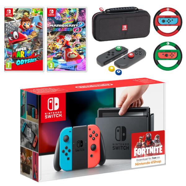 Nintendo Switch Mega Mario Pack