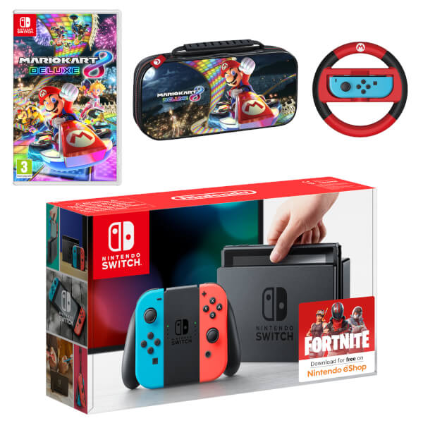 nintendo switch mario kart 8 deluxe pack nintendo official uk store. Black Bedroom Furniture Sets. Home Design Ideas