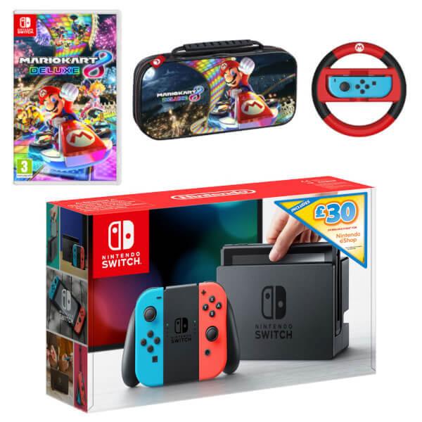 Nintendo Switch Mario Kart 8 Deluxe Pack + £30 eShop Credit
