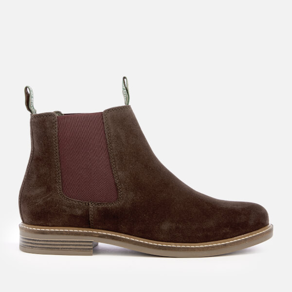 Barbour Men's Farsley Suede Chelsea Boots - Brown