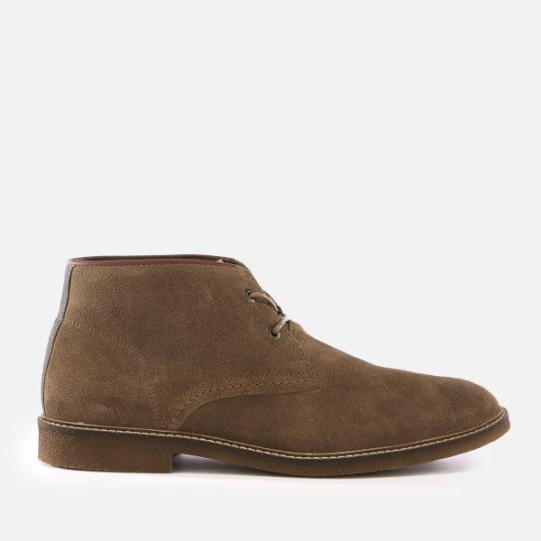 Barbour Men's Kalahari Suede Desert Boots - Stone