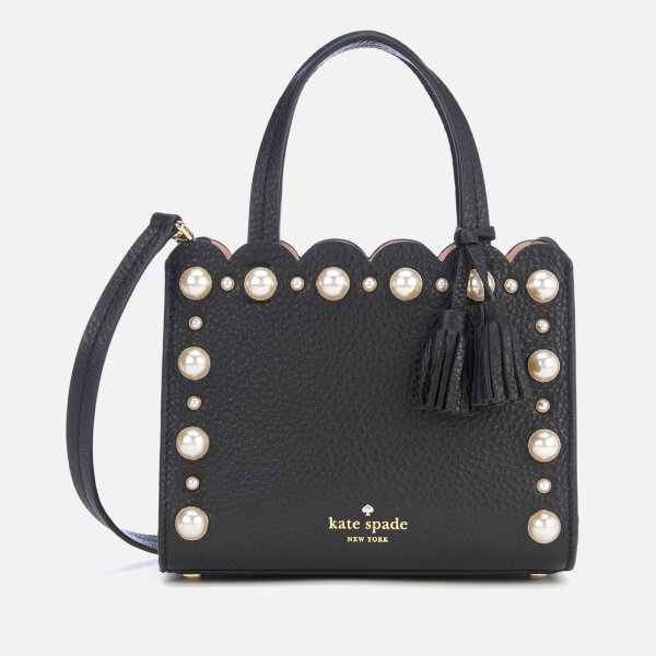 Kate Spade New York Women s Hayes Street Pearl Small Sam Bag - Black  Image  1