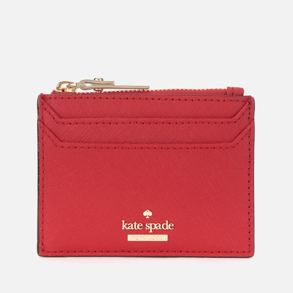 Kate Spade New York Women's Lalena Card Holder - Heirloom Red