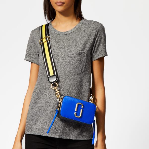 ecb5cc5dc26 Marc Jacobs Women's Snapshot Cross Body Bag - Dazzling Blue Multi: Image 3