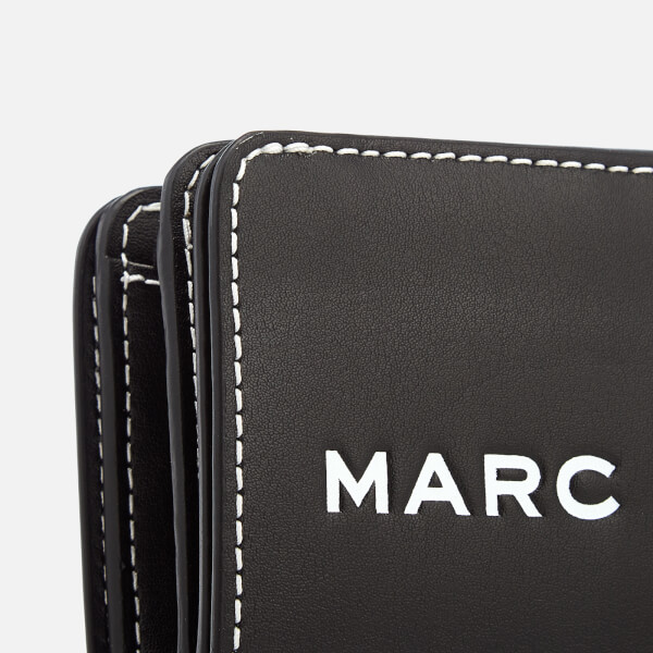 3fe9f7f33f Marc Jacobs Women's Compact Wallet - Black: Image 4