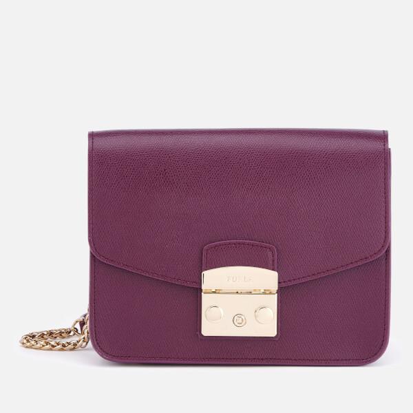 Furla Women's Metropolis Small Cross Body Bag - Purple