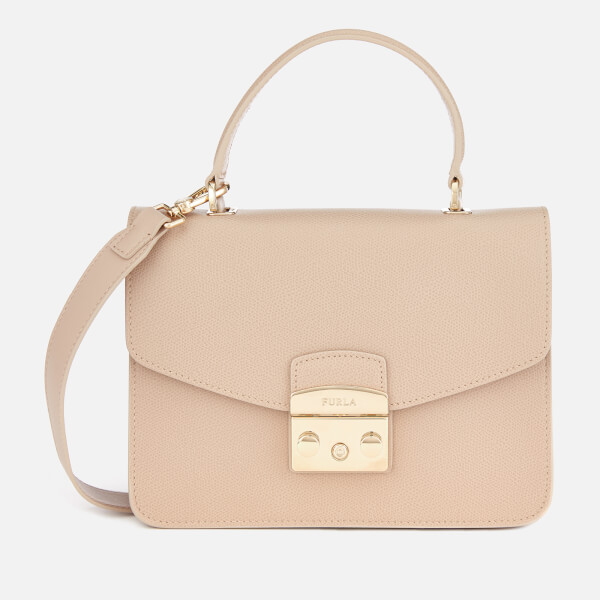 Furla Women's Metropolis Small Top Handle Bag - Cream