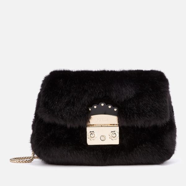 Furla Women's Metropolis Nuvola Mini Cross Body Bag - Black