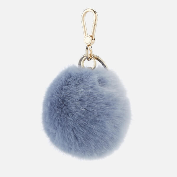 Furla Women s Bubble Pom Pom Keyring - Light Blue Clothing  16b74327d