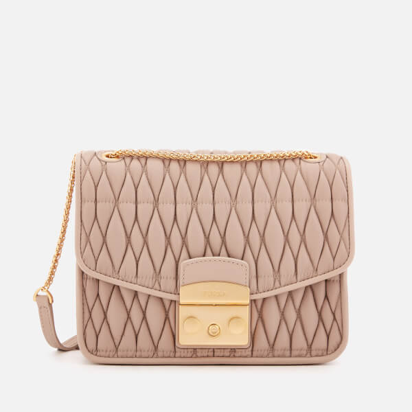Furla Women's Metr.Cometa Small Cross Body Bag - Cream