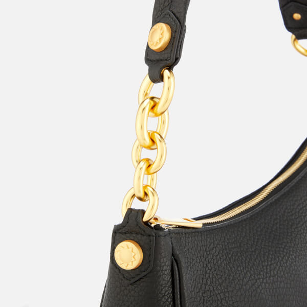 Furla Women s Cometa Medium Hobo Bag - Black  Image 4 0ef2c8358a93d