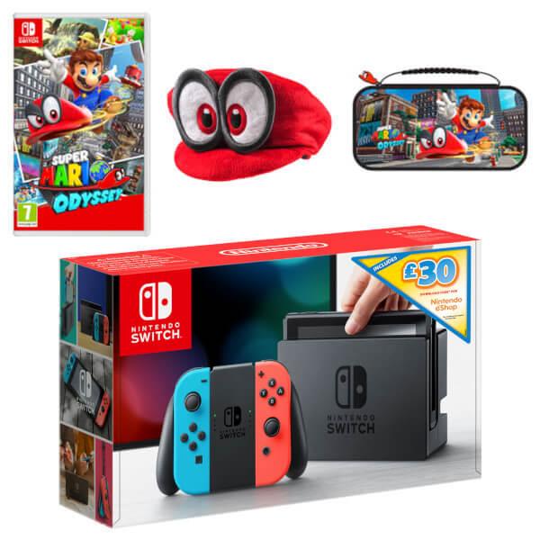 Nintendo Switch Super Mario Odyssey Pack + £30 eShop Credit
