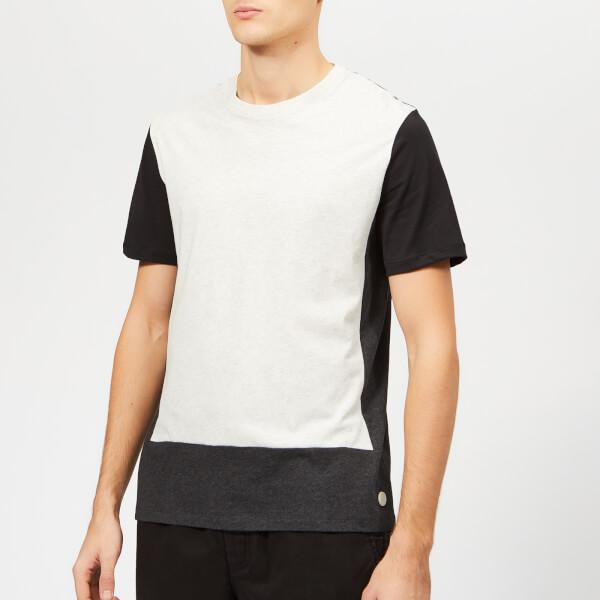 Folk Men's Block T-Shirt - Ecru Melange