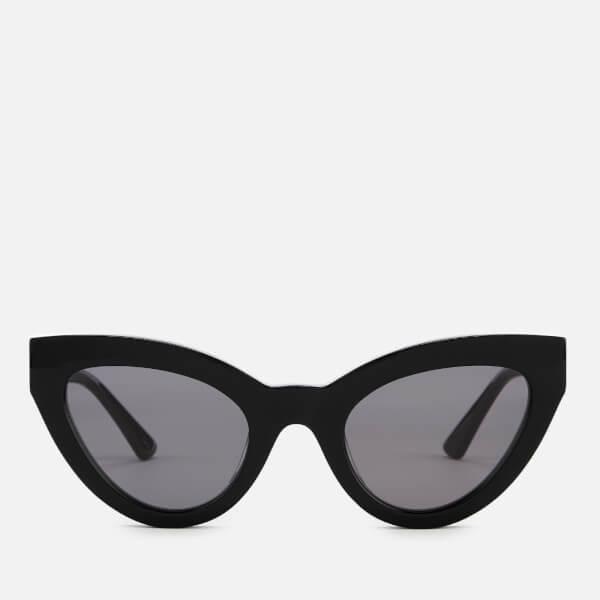 McQ Alexander McQueen Women's Cat-Eye Frame Sunglasses - Black