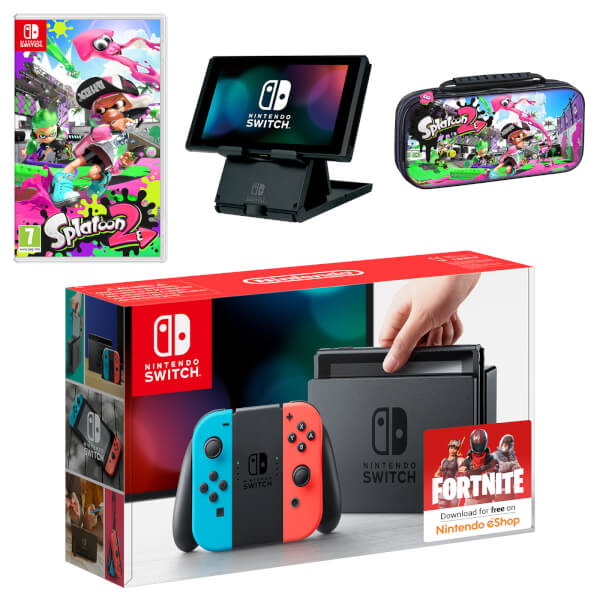 Nintendo Switch Splatoon 2 Pack