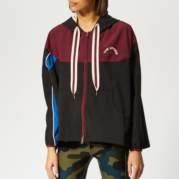 The Upside Women's Colour Block Ash Jacket - Black Multi