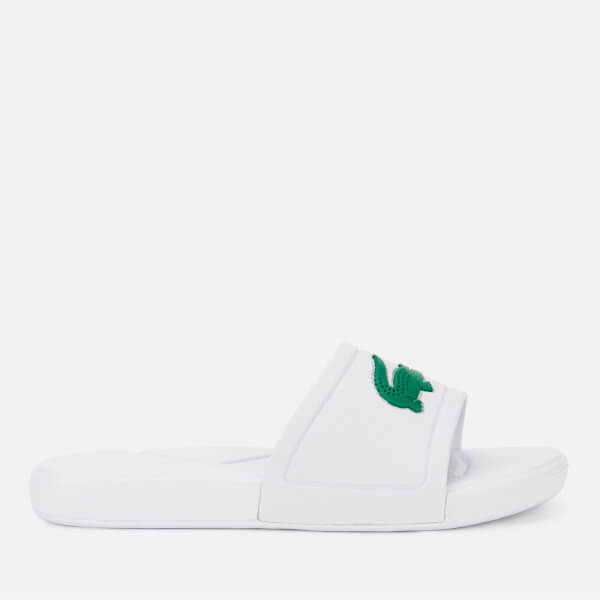 6db56d43c Lacoste Kids  L.30 Slide 119 2 Sandals - White Green  Image