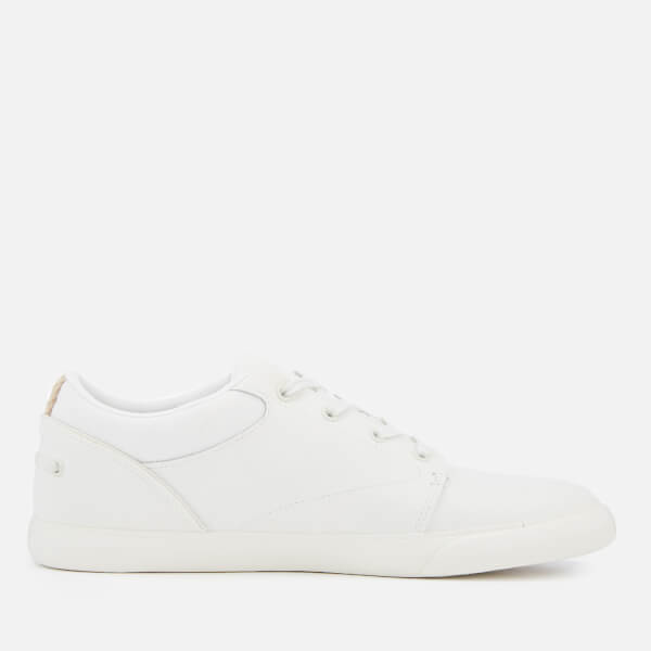 f933a3c23b28f2 Lacoste Men s Bayliss 119 1 Leather Lace Up Trainers - Off White Off White