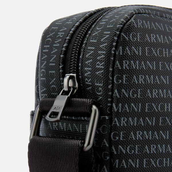 e3321f9490fd Armani Exchange Men s Reporter Bag - Nero  Image 4