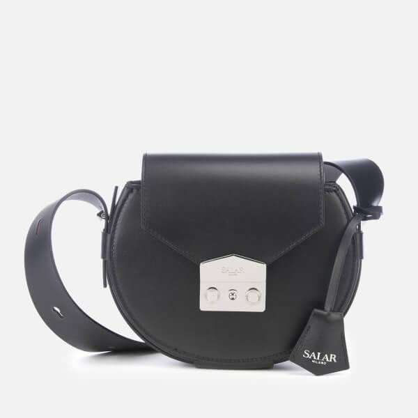 SALAR Women's Annie Basic Cross Body Bag - Black