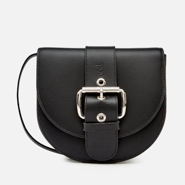 Vivienne Westwood Women's Alex Saddle Bag - Black