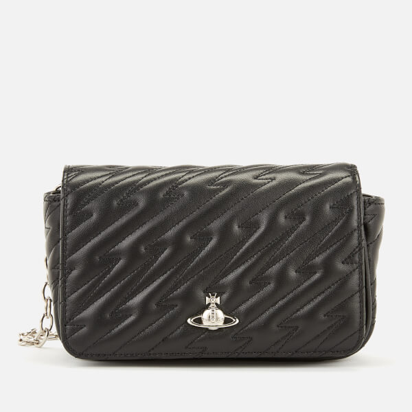082b7315ca Vivienne Westwood Women's Coventry Mini Cross Body Bag - Black: Image 1