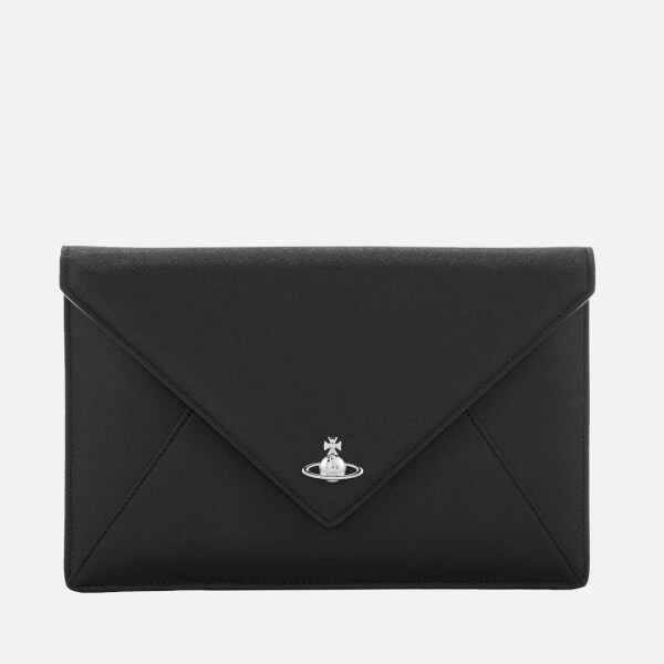 Vivienne Westwood Women's Victoria Envelope Clutch Bag - Black