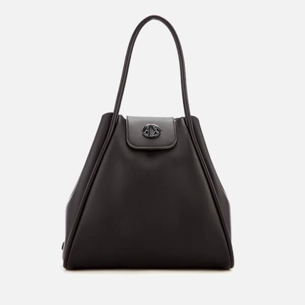 5a42dc4f5d39 Armani Exchange Women39s Medium Shopper Tote Bag with Logo