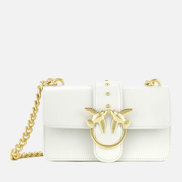 1da8b6ca4c8 Pinko Women's Mini Love Simply Shoulder Bag - White: Image 1