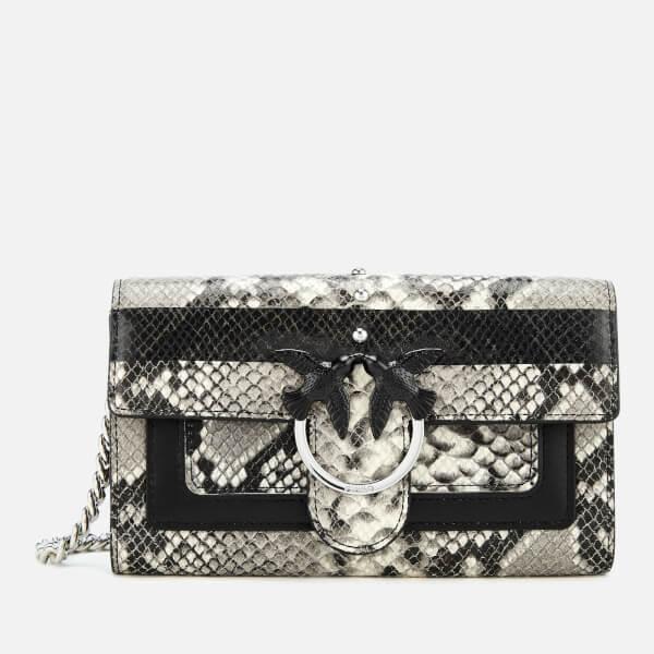 Pinko Women's Lavacourt Wallet Bag - Python