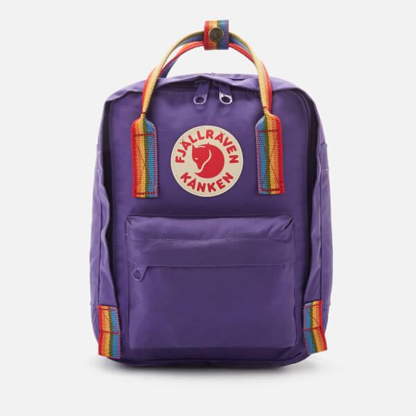 Fjallraven Women's Kanken Rainbow Mini - Purple