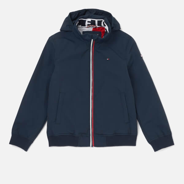 Tommy Hilfiger Boys' Essential Jacket - Black Iris