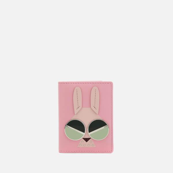 Kate Spade New York Women's Spademals Money Bunny Card Case - Rococo Pink