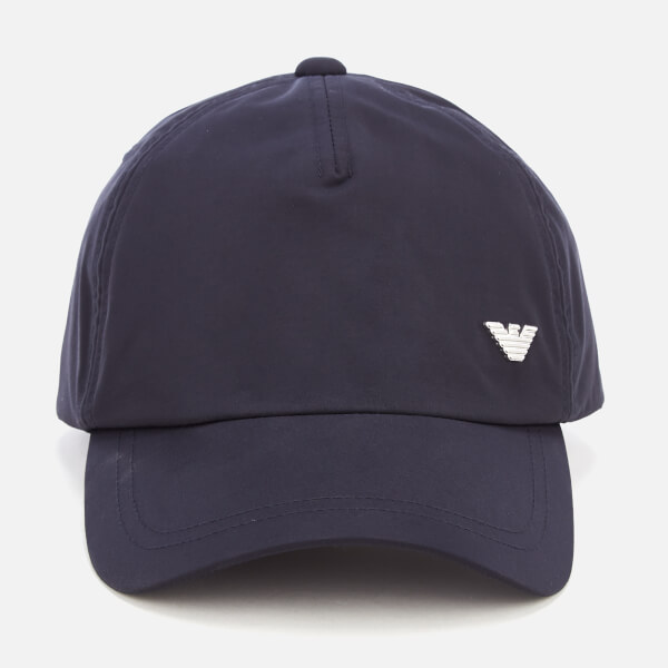 Emporio Armani Men's Cap - Blue Peacot