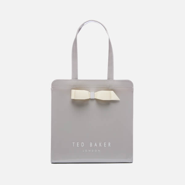 Ted Baker Women's Arycon Bow Detail Small Icon Bag - Grey