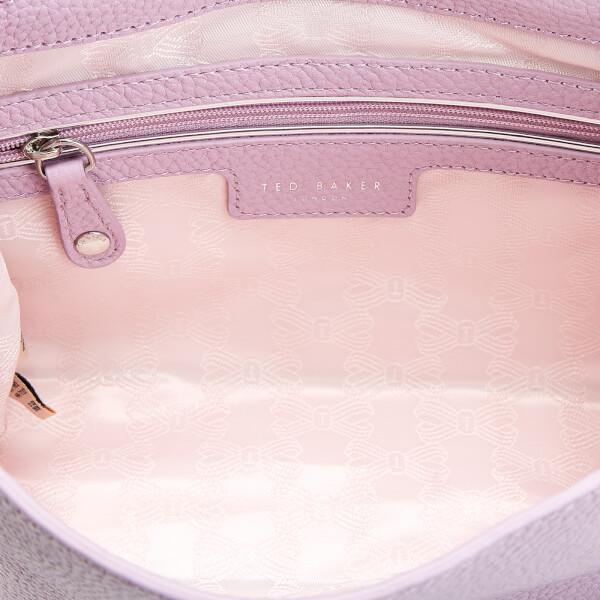 38b371d63aa0 Ted Baker Women s Clarria Bow Detail Cross Body Bag - Light Purple  Image 5
