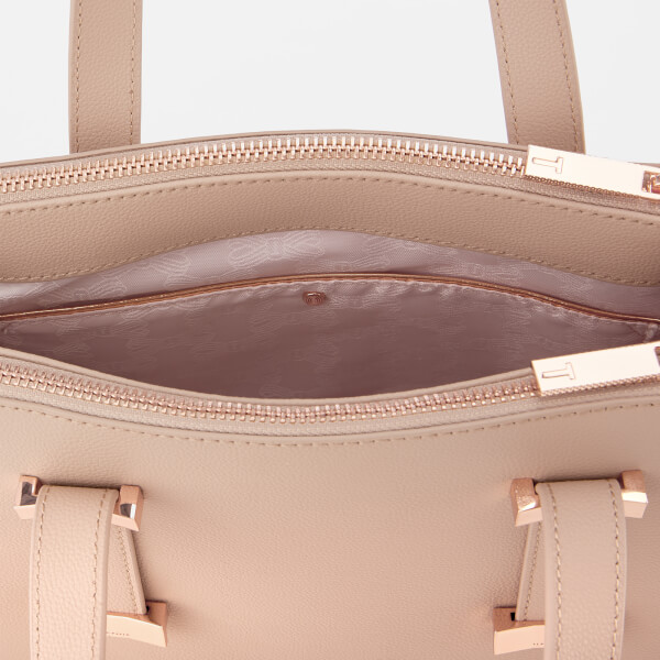 a512c8d3dbb4 Ted Baker Women s Julieet Bow Adjustable Handle Small Tote Bag - Taupe   Image 5