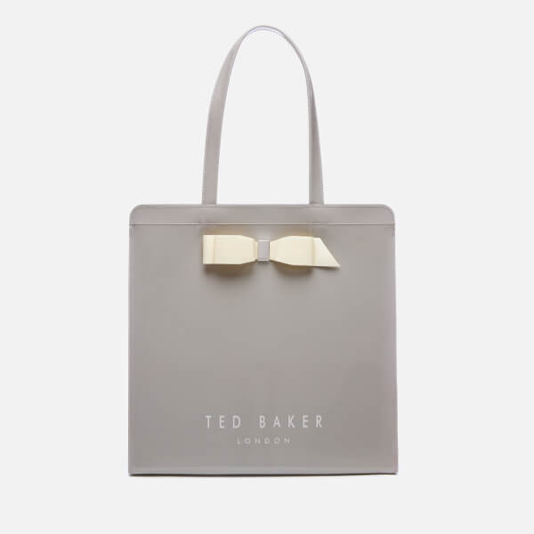 Ted Baker Women's Almacon Bow Detail Large Icon Bag - Grey