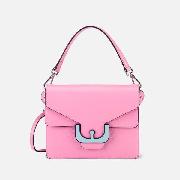 Coccinelle Women's Ambrine Graphic Cross Body Bag - Bubble Gum