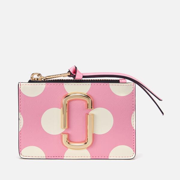 Marc Jacobs Women's Top Zip Multi Wallet - Primrose Multi