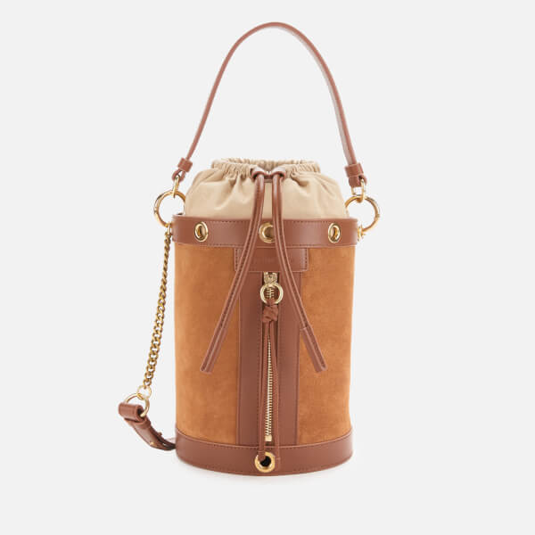 See By Chloé Women's Debie Bucket Bag - Caramello